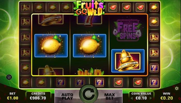 Fruits Go Wild Gameplay