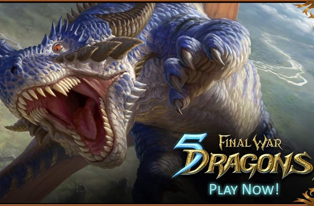Final War 5 Dragons is een games, card en puzzel app die je speelt op je mobieltje