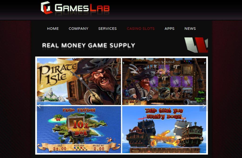 Bij Games Lab kun je voor echt geld gaan spelen