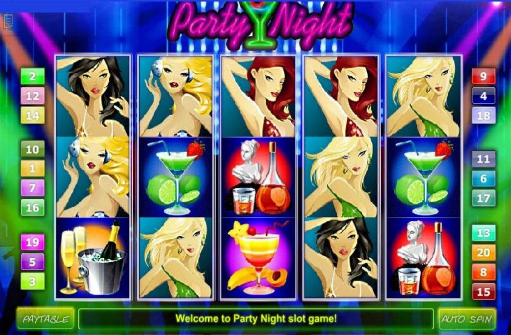 Party Night is een bekend slot van Games OS/CTXM