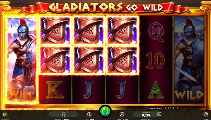 Gladiators Go Wild Gameplay