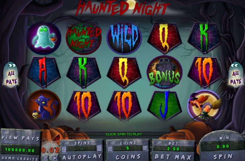 Haunted Night Gameplay