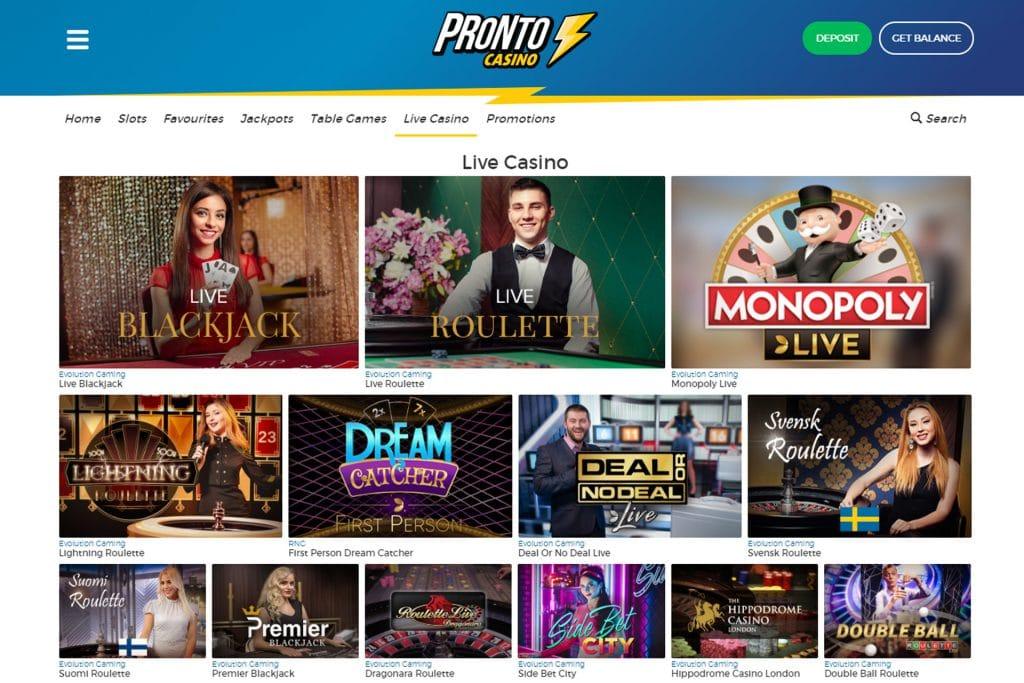 Het mooie live casino met Evolution Gaming