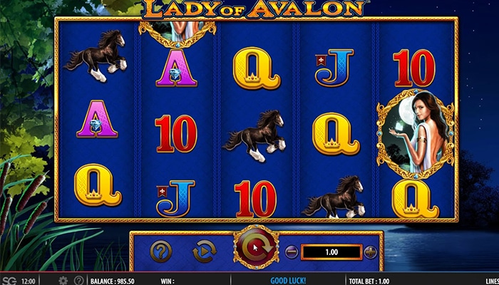 Lady of Avalon Gameplay