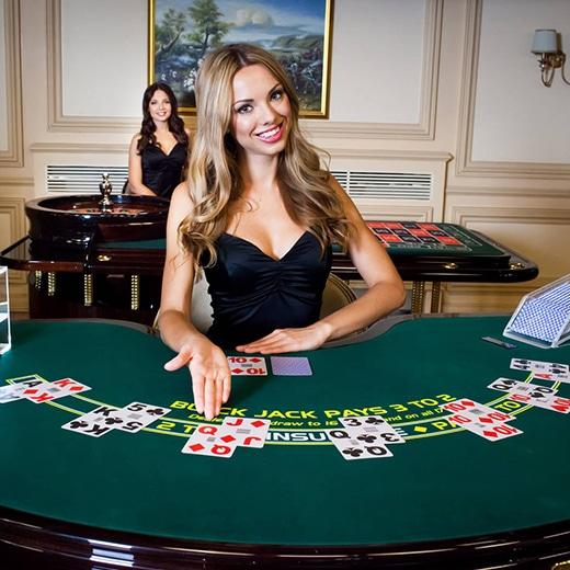 Live casino in online casino