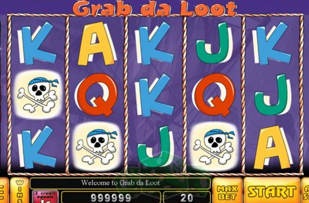 Een klassiek spel van Noble Gaming is Grab da Loot