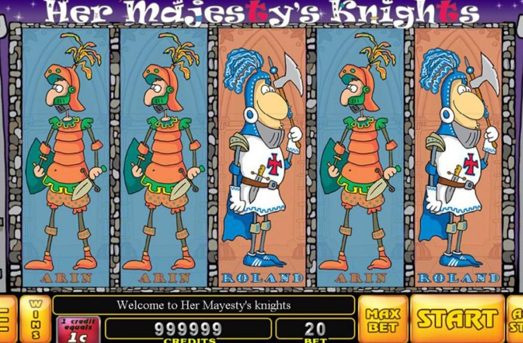 Her Majesty's Knights is een spel van Noble Gaming