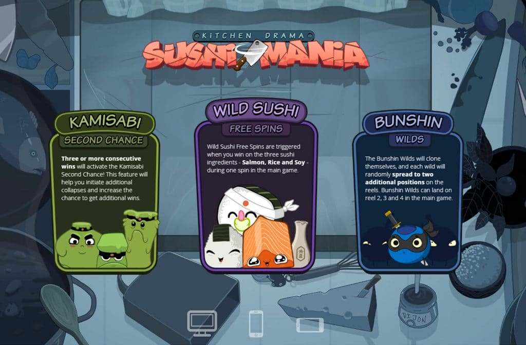Sushi Mania is een bekend spel van Nolimit City
