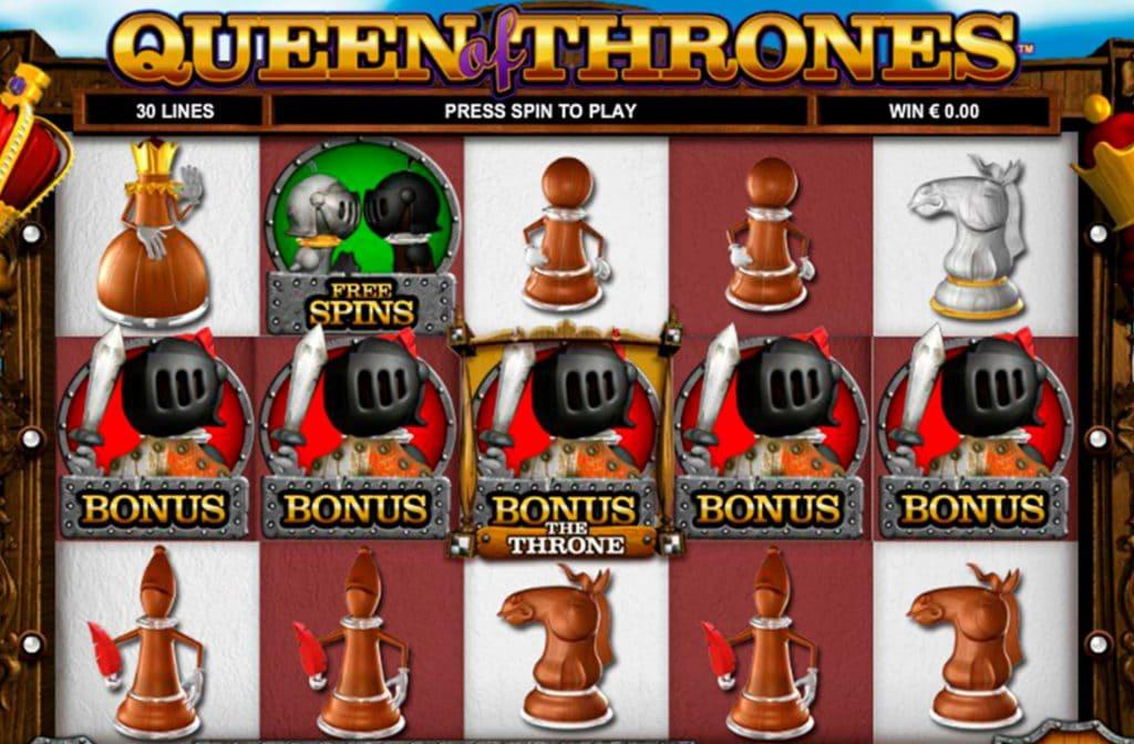 Er zijn leuke bonusfuncties bij Queen of Thrones