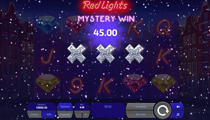 Red Lights Mystery Win