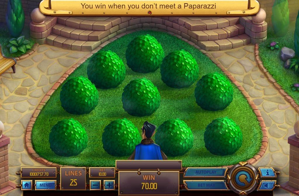 Paparazzi Bonus Game