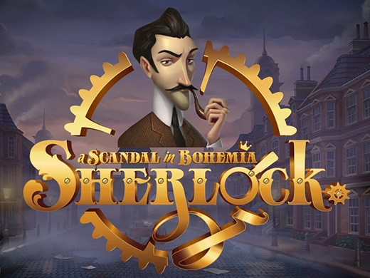 Sherlock a scandal in Bohemia logo1