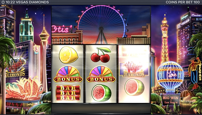Vegas Diamonds Gameplay