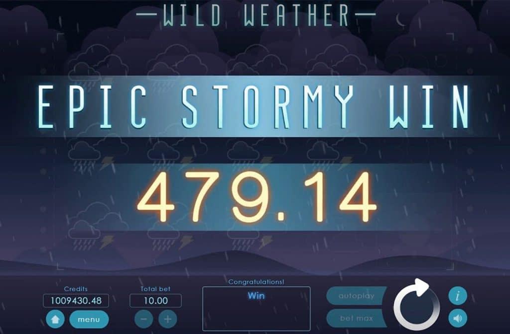 Met de bonusfuncties van Wild Weather zijn mooie prijzen te winnen