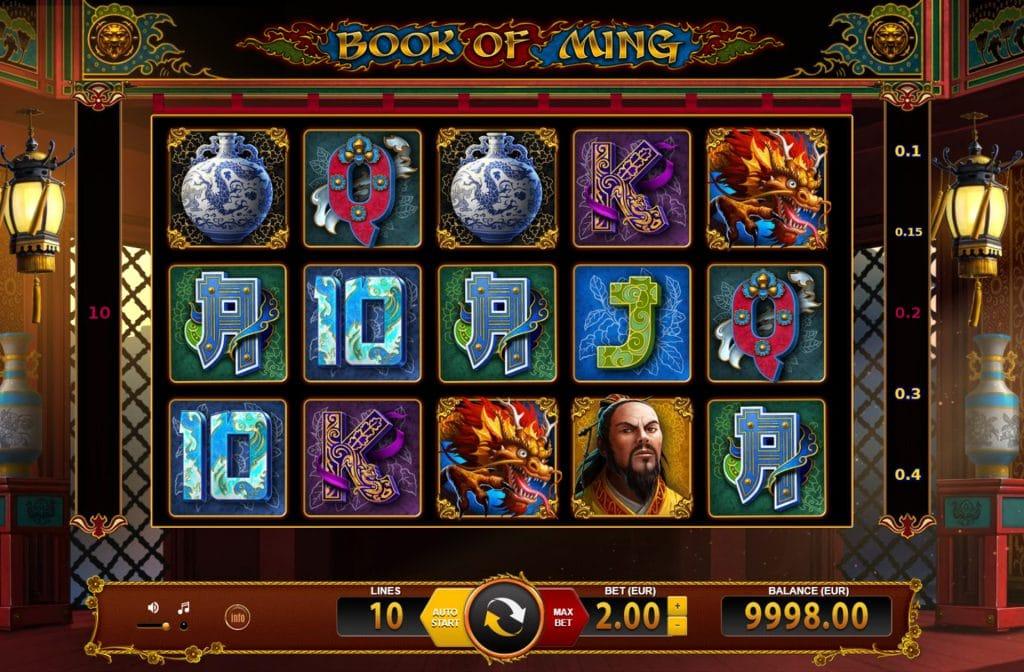 Book of Ming is een Aziatisch videoslot