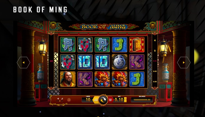 Gokkast Book of Ming Gameplay