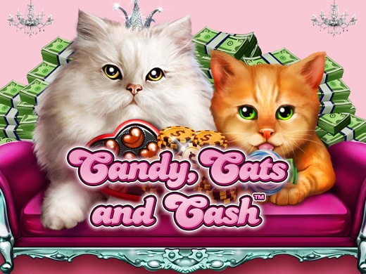 Gokkast Candy Cats and Cash Logo