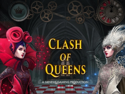Gokkast Clash of Queens Logo