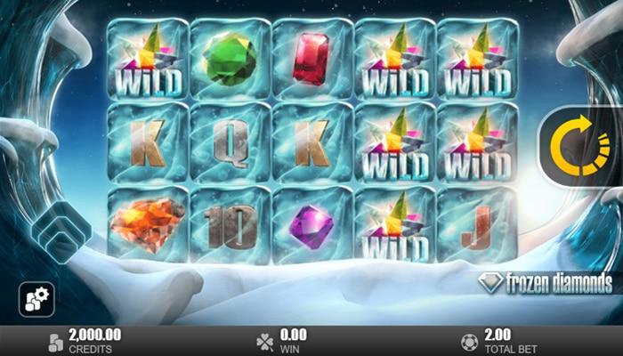 Gokkast Frozen Diamonds Gameplay