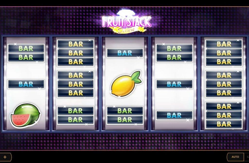 Fruit Stack Deluxe is een nostalgische fruitkast die voor urenlang speelplezier zorgt