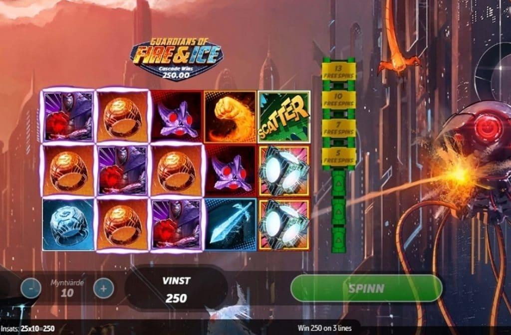 Bij Guardians of Fire & Ice nemen de elementen vuur en ijs het op tegen de slechterik