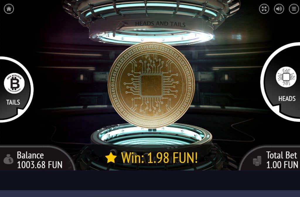 Met deze gouden munt kies je voor kop of staart en ga zo voor de winnende combinatie