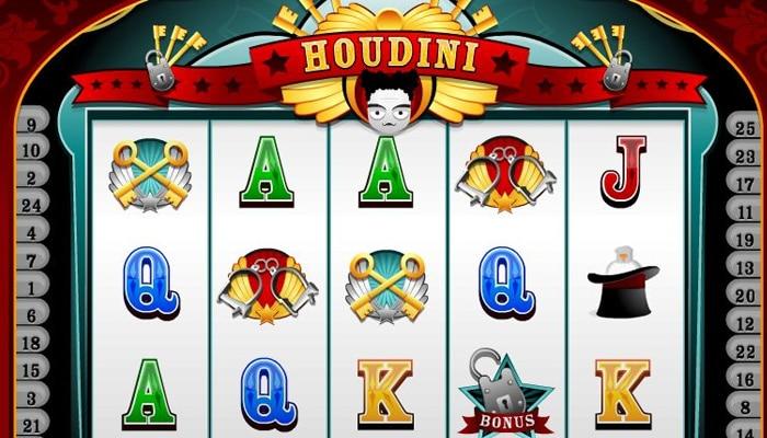 Gokkast Houdini Gameplay