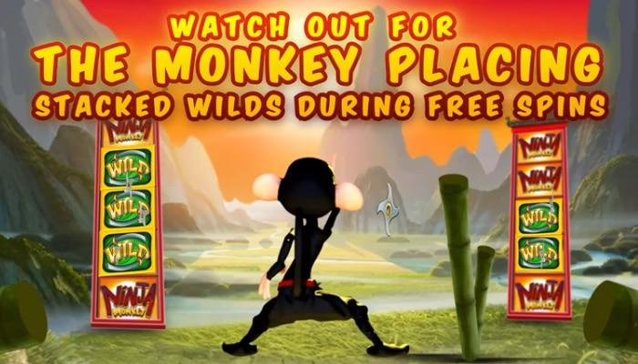 Gokkast Ninja Monkey Gameplay