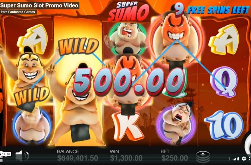 Super Sumo zorgt voor mooie prijzen