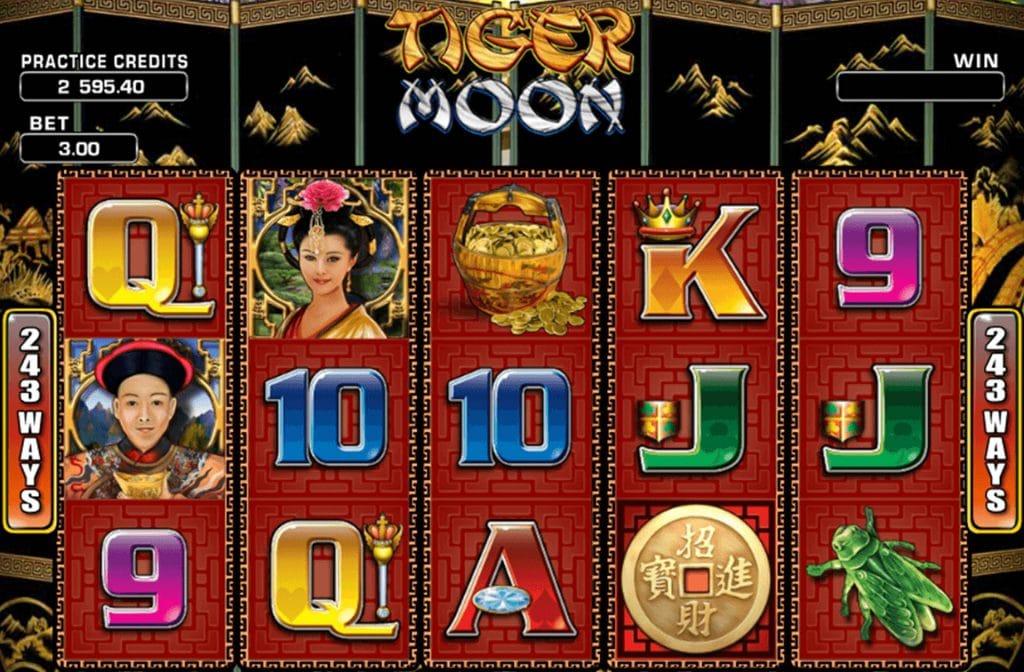 Bij Tiger Moon van Aristocrat waan je jezelf in China