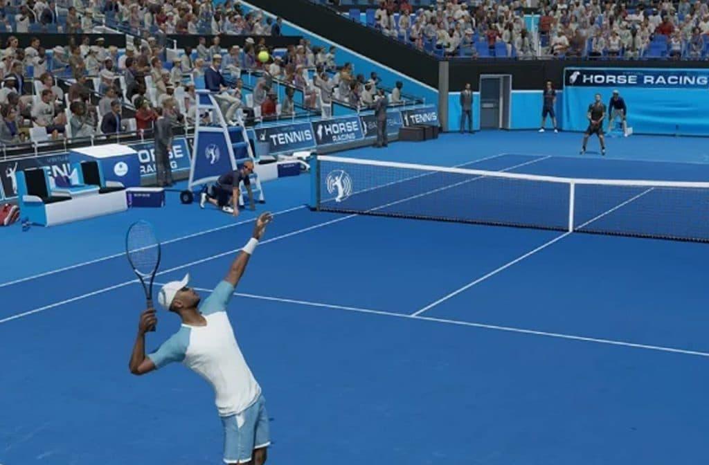 Bij Virtual Tennis kun je op diverse manieren wedden