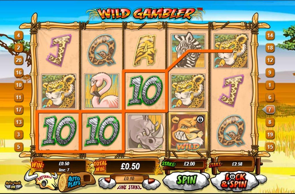 Bij Wild Gambler zijn er diverse bonussen te verdienen
