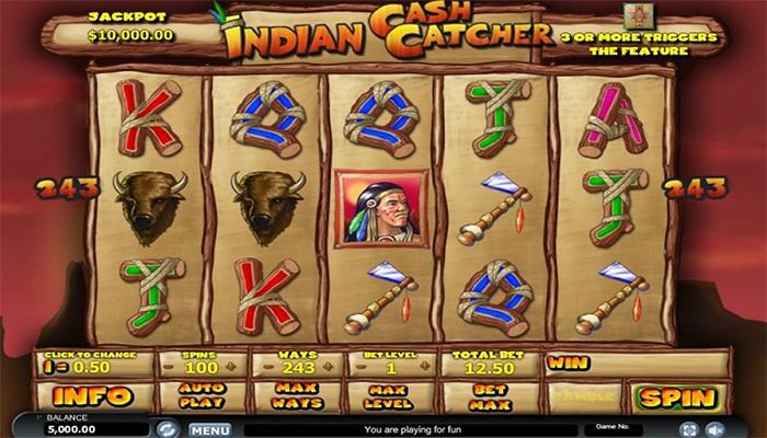 Indian Cash Catcher Gameplay