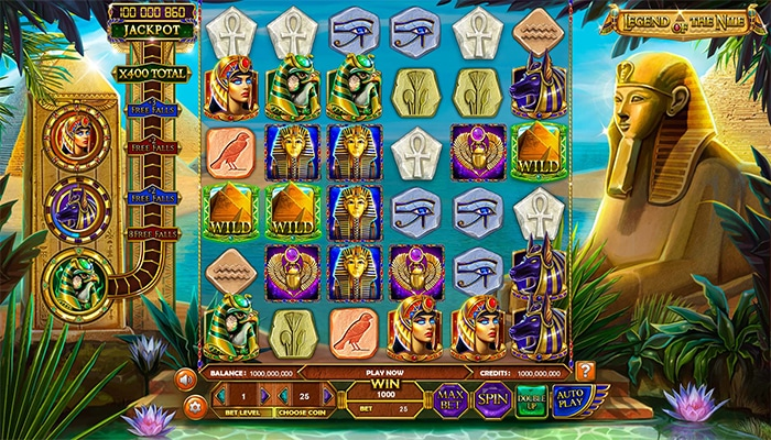 Legend of the Nile gameplay