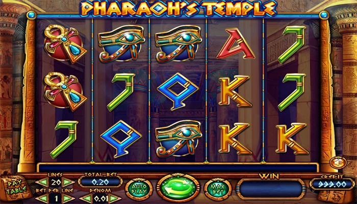 Pharaoh's Temple Gameplay