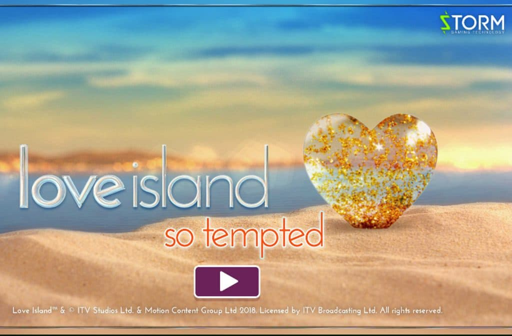 Ook van het populaire tv programma Love Island is een spel gemaakt