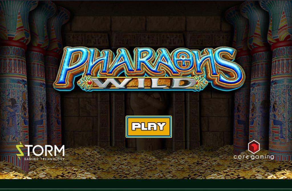 Het spel Pharaohs Wild speelt zich af in het verre Egypte