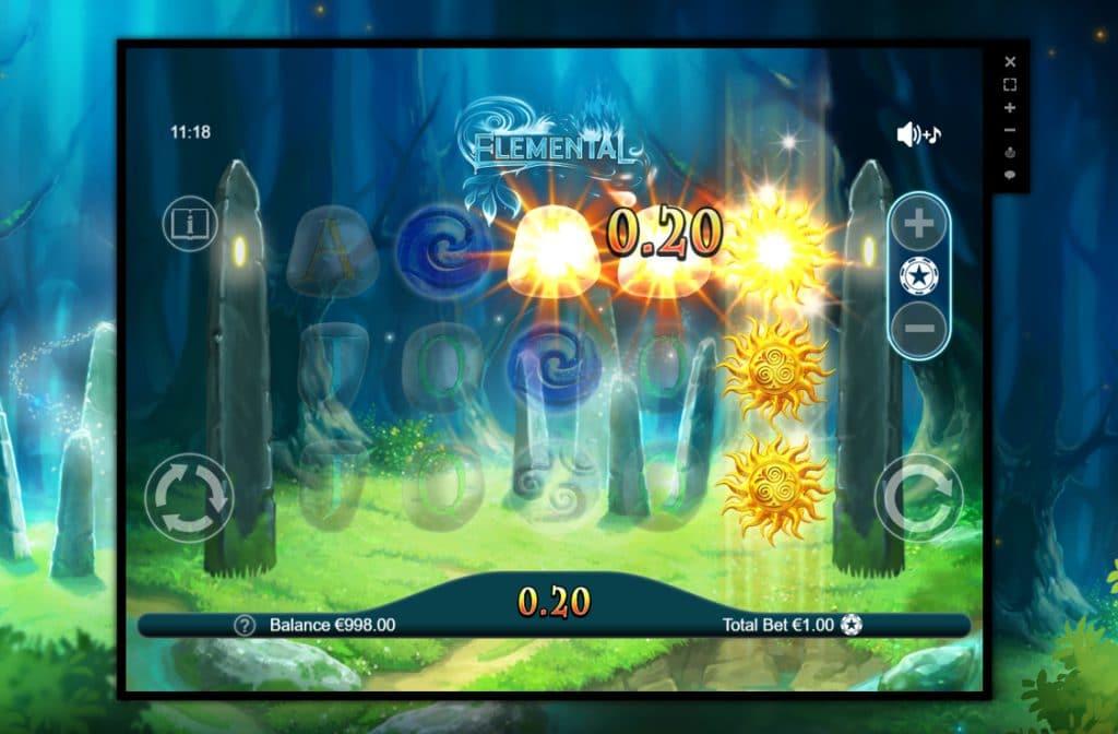Bij het spel Elemental draait het om de elementen water, aarde, lucht en vuur