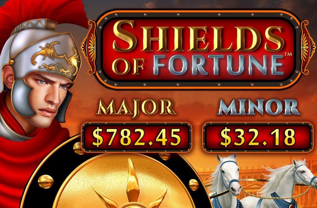 Shields of Fortune van Wild Streak Gaming brengt je terug naar de tijd van de Romeinen