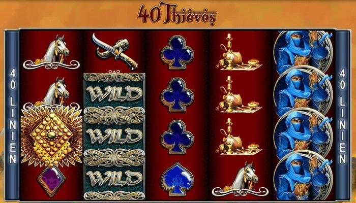 40 Thieves Gameplay