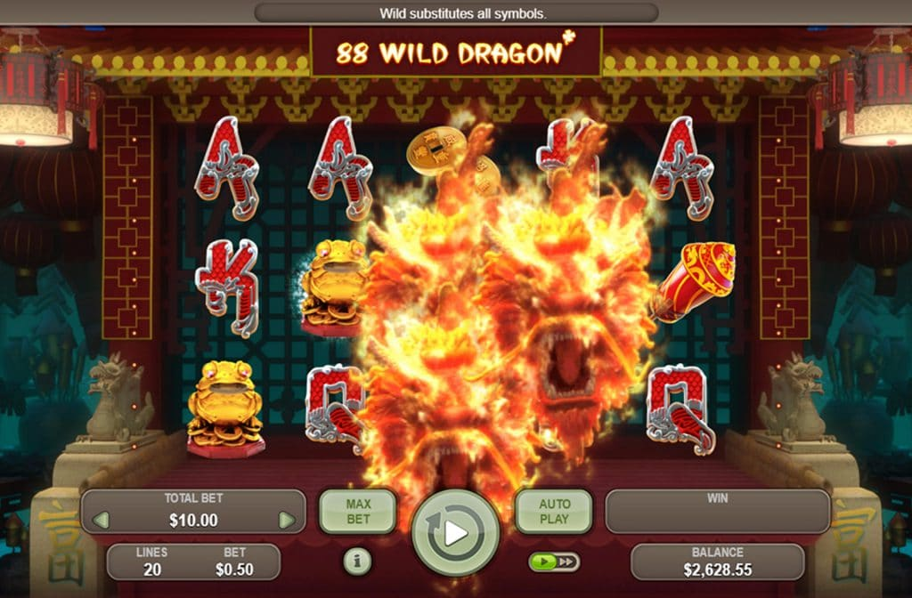 88 Dragon is ontworpen door Booongo Gaming en combineert de Chinese mythologie met mooie bonussen