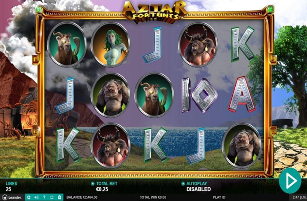 Aztar Fortunes van Leander Games