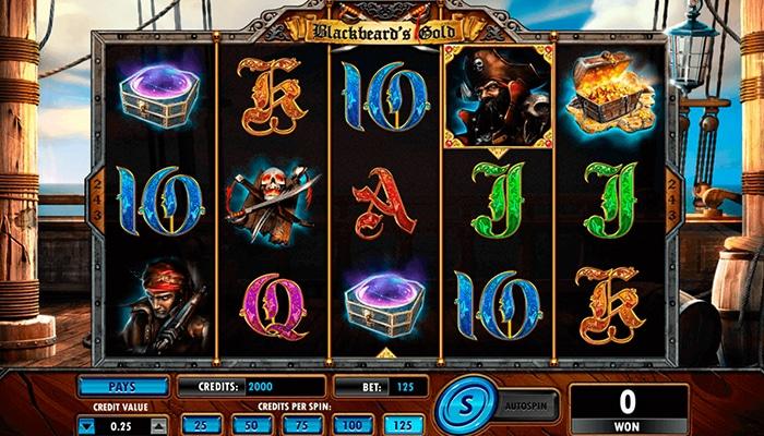Blackbeard's Gold Gameplay