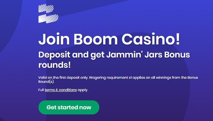 Boom Casino Aanbieding