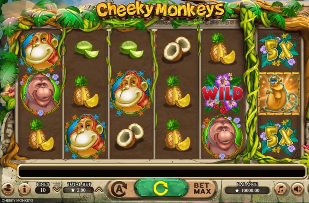 Cheeky Monkeys is ontwikkeld door Booming Games