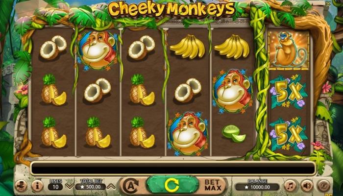 Cheeky Monkeys Gameplay