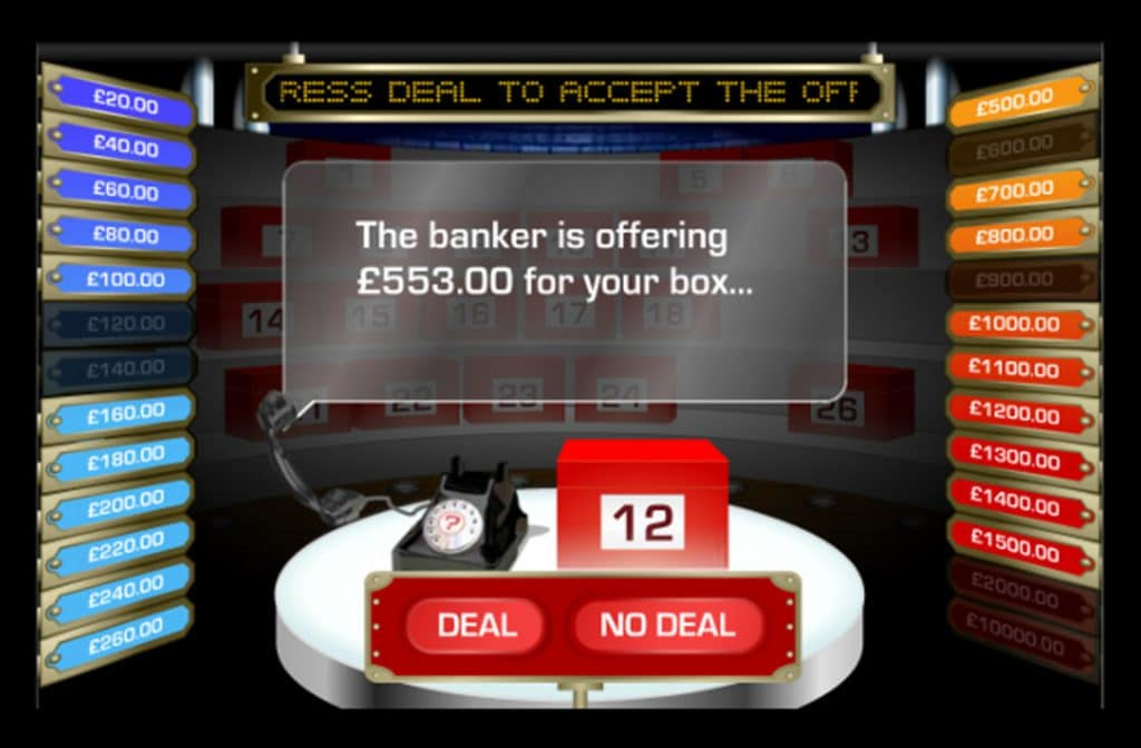 Maak je een deal met de bank of speel je nog even door?