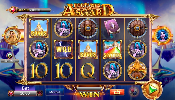 Fortunes of Asgard Gameplay