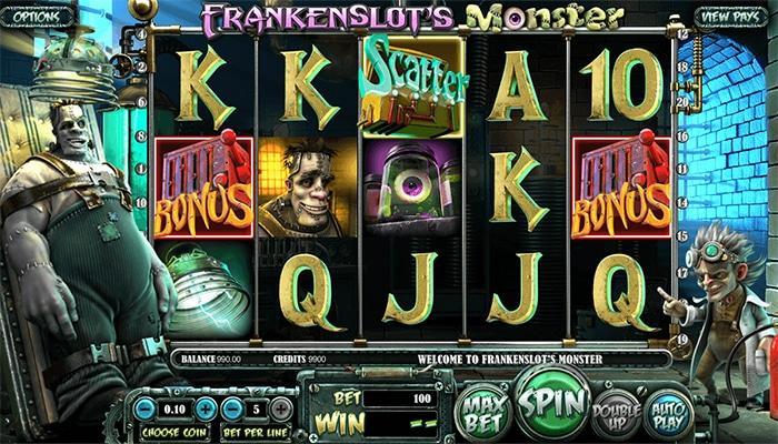 Frankenslot's Monster Gameplay