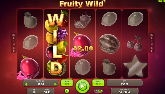 Fruity Wild Gameplay